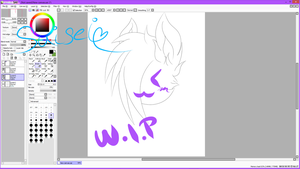 Suisei W.I.P by Lali-the-Bunny