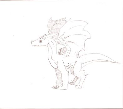 Dragon Sketch by Beaucephalus