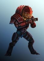 'Wrex...' by CurtisRU