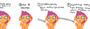 Simple Scootaloo by MartyMurray