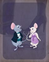 Disney Prom pt 2- The Rescuers by spicysteweddemon