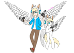 Angle with a Gun (kinda) xD by Mimoko-Yushikuni
