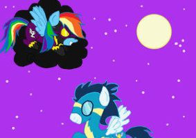 Soarin' and Rainbow Fanfic 2 by Lovelye