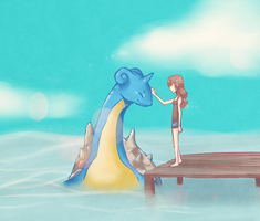 lapras love . by Rurutia