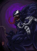 Venom color by AbyssalJT