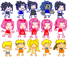 Evolution--Team 7 by ff79genius42