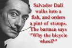 Funny Salvador Dali by friartuck40