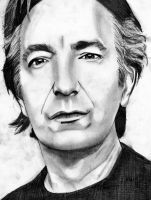 Alan Rickman by alyssa-mobissa