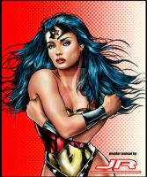 Wonder Woman by Jr-Andrade