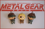 Chibi-Charms: Metal Gear Solid by MandyPandaa