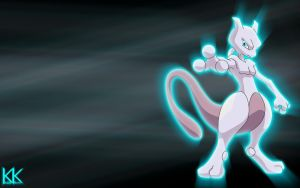 Mewtwo Wallpaper by Kage-Kaldaka