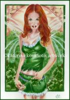 Irish Fae by Katerina-Art