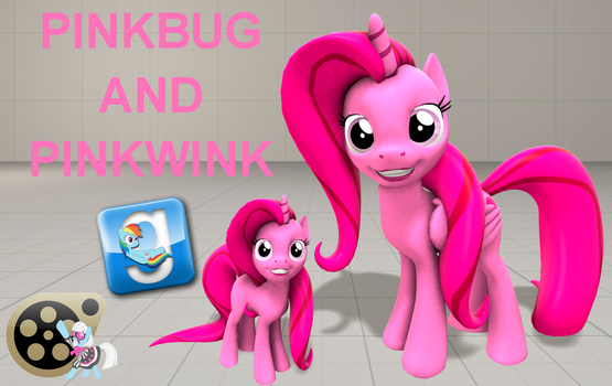 (DL) Pinkbug and Pinkwink by Out-Buck-Pony