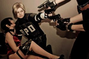 RESIDENT EVIL 'Stay with me, Ada' by Hirako-f-w
