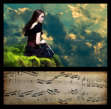 When words fail music speaks by vikky1991