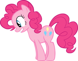 Pinkie Pie Vector #1 by EbonTopaz