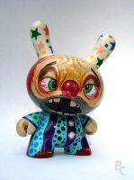 Crazed Clown Dunny by bryancollins