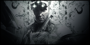 Sign Splinter Cell Blacklist by AcCreed