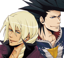 Klavier and Daryan by soak1111