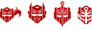 DINOBOT INSIGNIAS by F-for-feasant-design