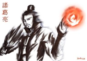 Zhuge Liang by kamikaze2534