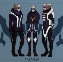 Vakarians by doodle-e