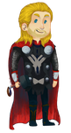 Chibi Thor by Deathberry999