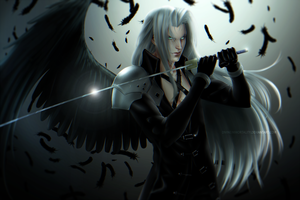One Winged Angel | FFVII by DivineImmortality