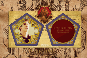 Remus Lupin Chocolate Frog Card by N0xentra