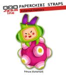 PaperChibi Straps: Katamari by spam-inc