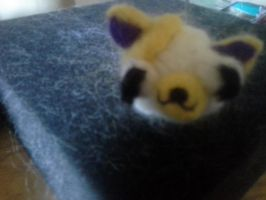 Felted Cake (as in Cake and Fionna) by theultimatepjofan