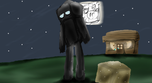 Enderman Without Outlines by Willisabrony