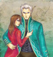 Aya+Vergil - for lovelyfantasy by artisteri