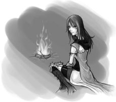 KH Simulacrum: Campfire by Naerko