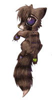 racoon thing n.n by Kanbhik