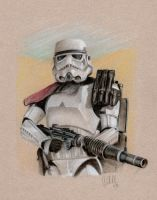 Sand trooper by sharky568