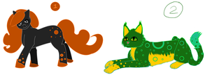 Halloween Adoptables and 500 pageviews by Flautist4ever