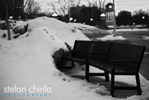 Right sitting in the cold by chirilas
