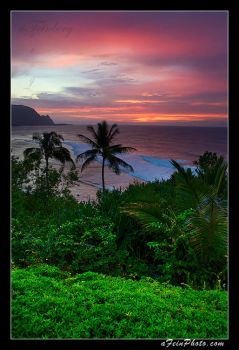 Tropical Sunset I by aFeinPhoto-com