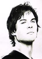 Damon Salvatore (Brothers WIP) by chlover25