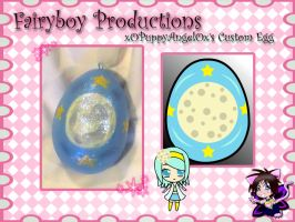 xOPuppyAngelOx's Custom Egg by LunarFoxDesigns