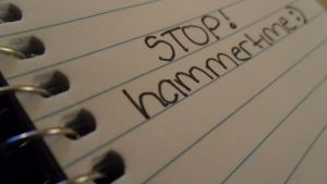 stop, hammertime by genmaurie
