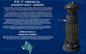 FX-7 Medical Assistant Droid tech readout [New] by unusualsuspex