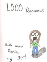 1,000 page views by T400naruto