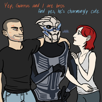 Thoughts on Garrus by benevoak