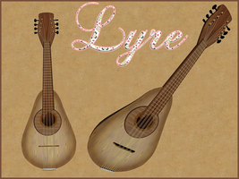 Lyre by Stock-by-Dana