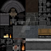 Diablo 3 Stairs Textures by S0id3