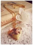 My Fragile Heart Locket by GingerKellyStudio