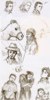 sketch dump by Sanzo-Sinclaire