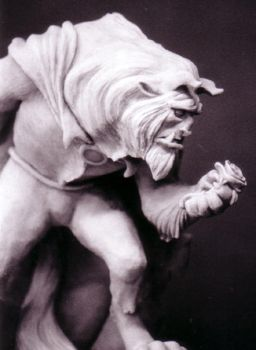 Beauty and the Beast sculpt by ArtNomad